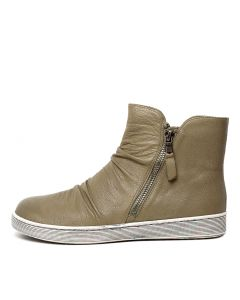 DAMIEN KHAKI LEATHER