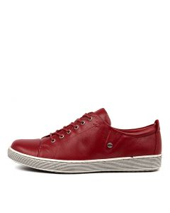 DEMPSEY RED LEATHER
