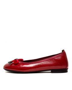 BASIL 32 RED PATENT LEATHER
