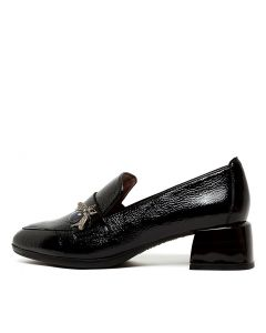 GINGER 38 BLACK PATENT LEATHER