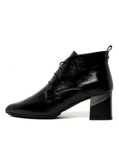 LINO 5 LACE BLACK PATENT LEATHER