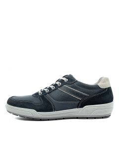 MARCO NAVY LEATHER