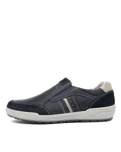 MATTEO NAVY LEATHER
