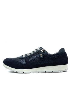 ELANAH NAVY NAVY SUEDE LEATHER