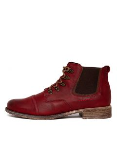 SIENNA 09 RED COMBO LEATHER