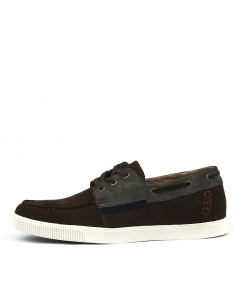 STEWART BROWN GREY NUBUCK