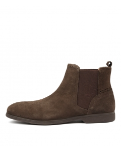 KAHILL BROWN SUEDE