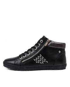 LAGOS 23 BLACK LEATHER