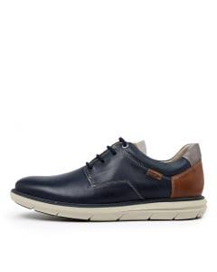 AMBERES 96 BLUE LEATHER