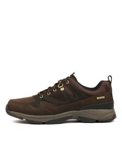 XCS SAWYERS LOW DARK BROWN LEATHER