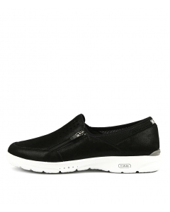 TRUFLEX W SLIP ON BLACK SHIMMER LEATHER