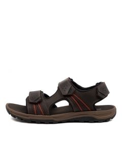 TT 3 STRAP BROWN LEATHER