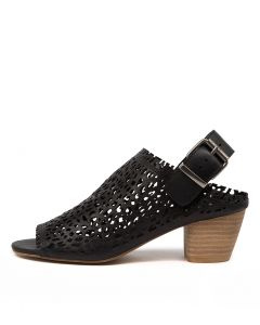 BAYLONS TO BLACK NATURAL HEEL LEATHER