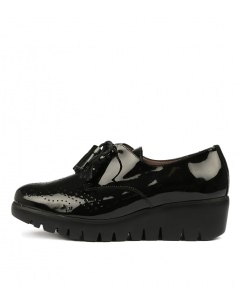 WILDFIRE BLACK PATENT LEATHER