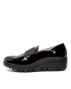 WILLING BLACK PATENT LEATHER