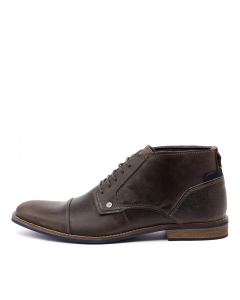 DIGBY DARK GREY LEATHER